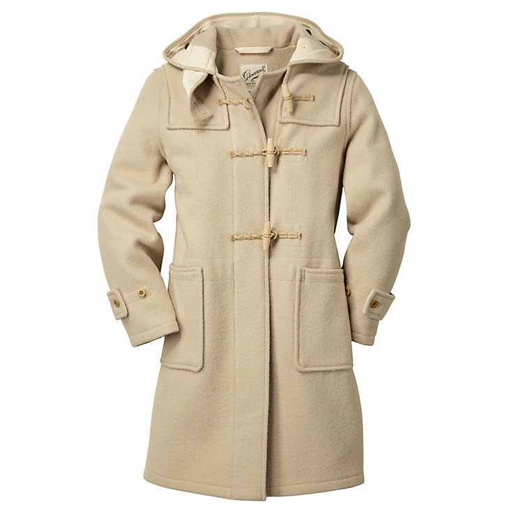 Gloverall Ladies' Duffle Coat Off White