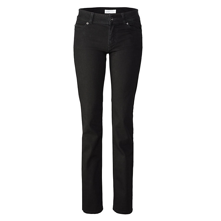 Goodsociety Damenjeans Straight Schwarz