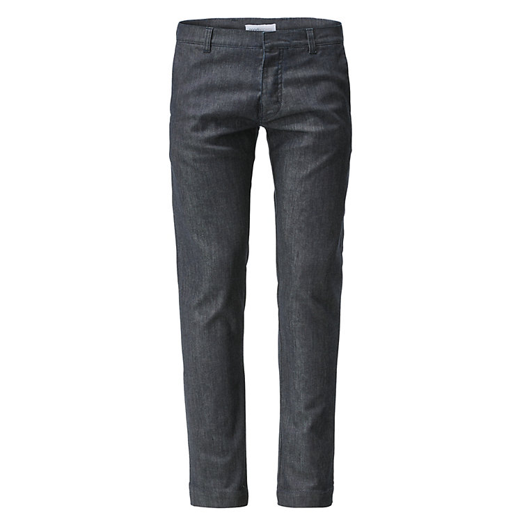 Goodsociety Herren-Chino, Denim