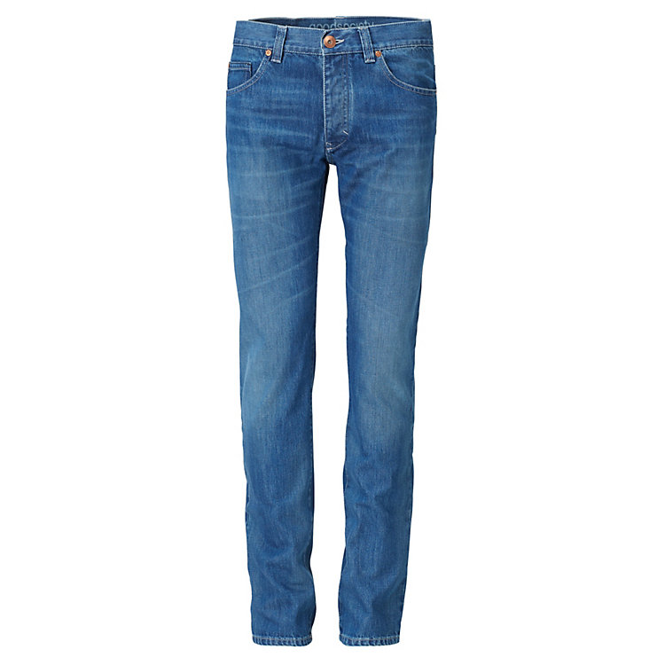 Goodsociety Herrenjeans Slim Straight Metallknöpfe