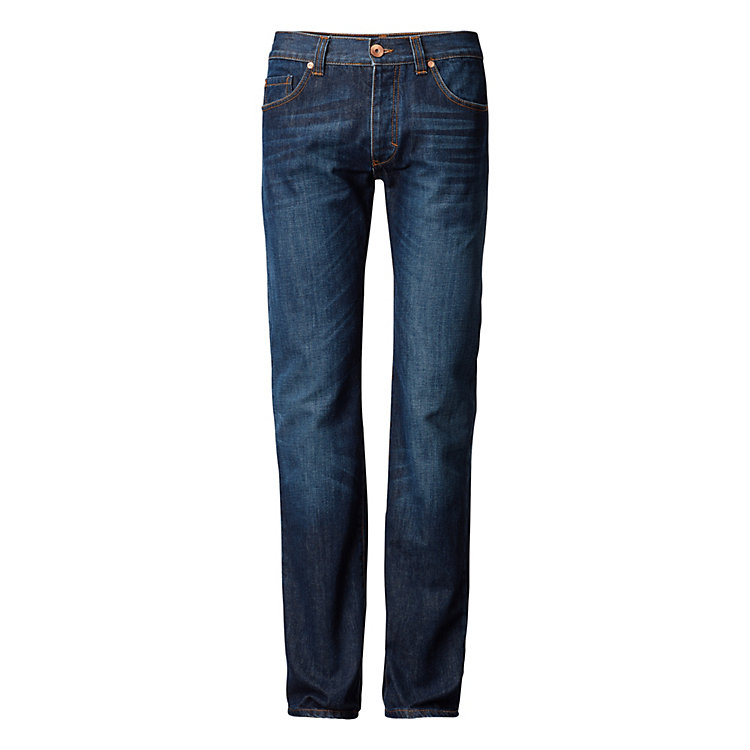 Goodsociety Men's Jeans Straight Blue Blue