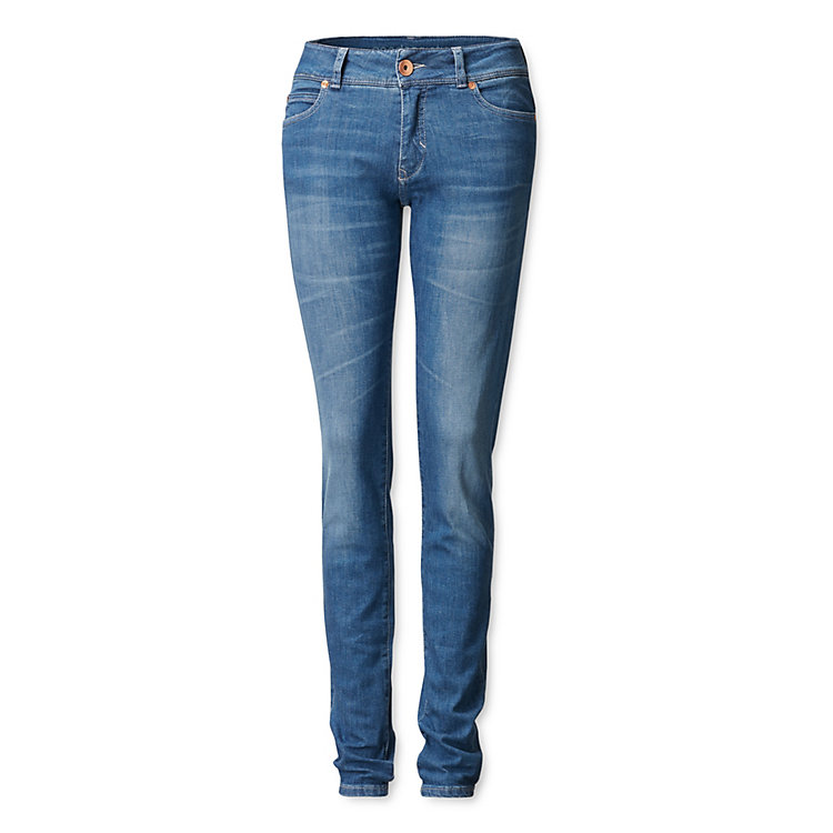 Goodsociety Women's Jeans Slim Cut Light blue