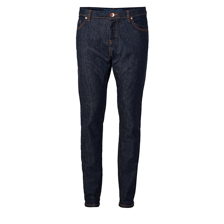Goodsociety Women's Jeans Tapered Cut Denim-Blue