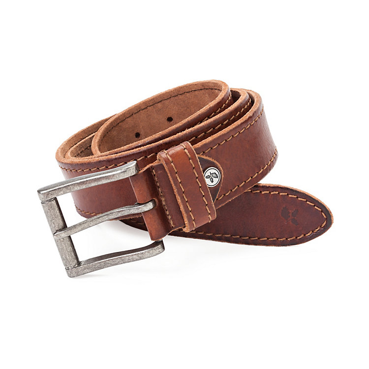 Greenbelts® Cow Hide Belt Dark brown