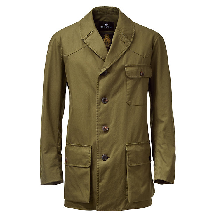 Grenfell Herrenjacke Shooter, Oliv