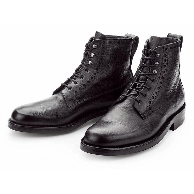 Grenson Ankle Boot Calf Leather Black