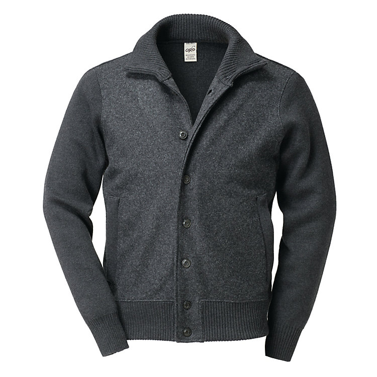 GRP Men's Virgin Wool Blouson Anthracite