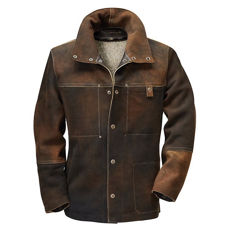 Hack Men's Chamois Tanned Deerskin Jacket