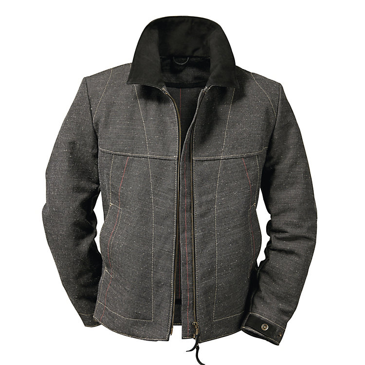 Hack Sailcloth Jacket, Anthracite
