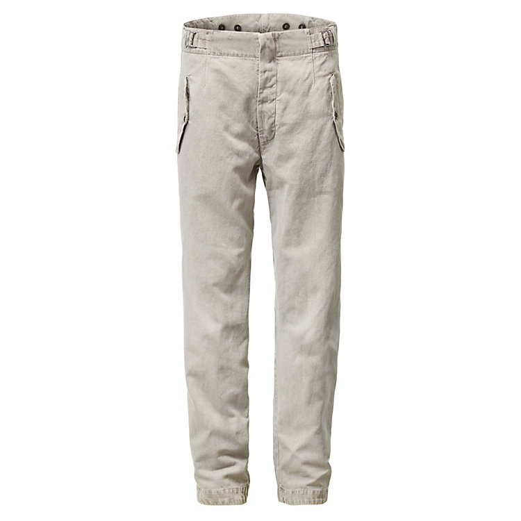 Hannes Roether Men's Trousers, Grey