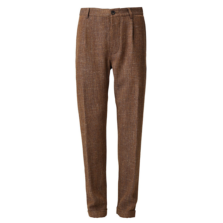 Hansen Men's Trousers Brown-melange