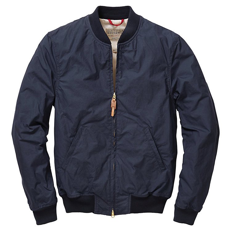 Herrenblouson Baumwolle Navy