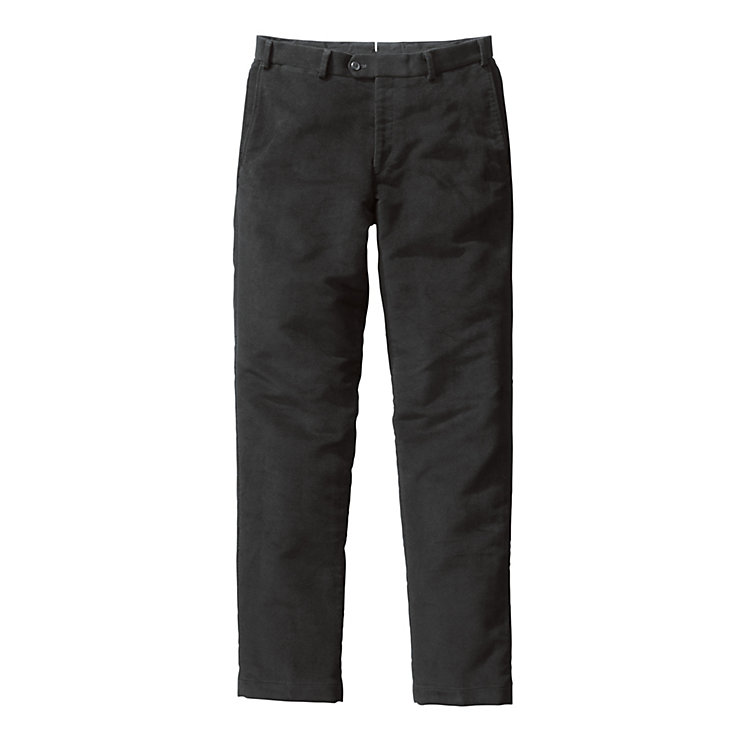 Hiltl Men's Chino Moleskin Black