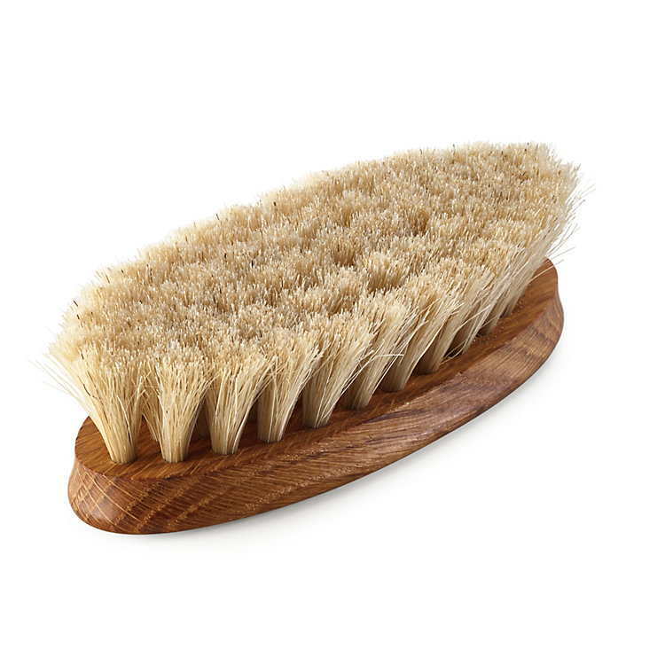 Horsehair Shoe Shine Brush Light