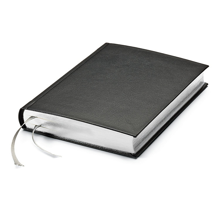 India Paper Notebook Silver Side Cut
