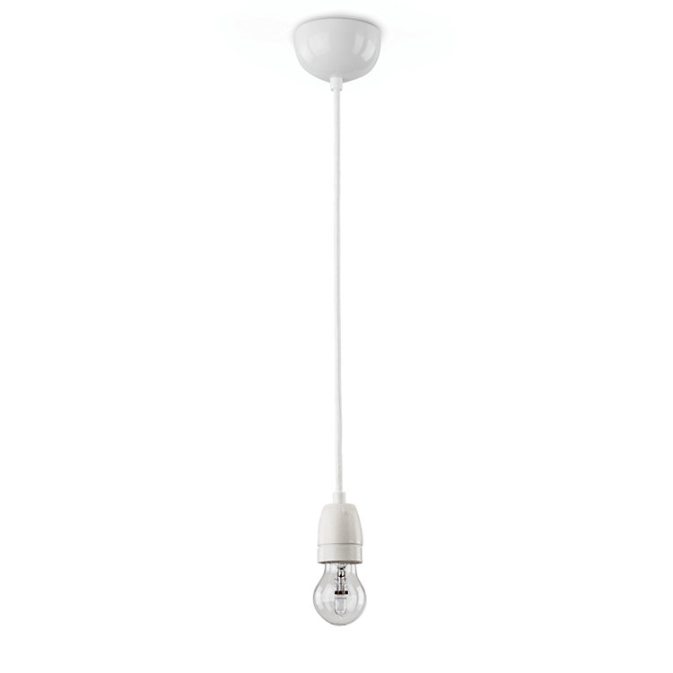 Industrial lamp Porcelain