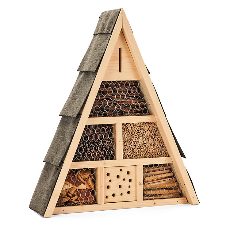 Insect House Made of Spruce