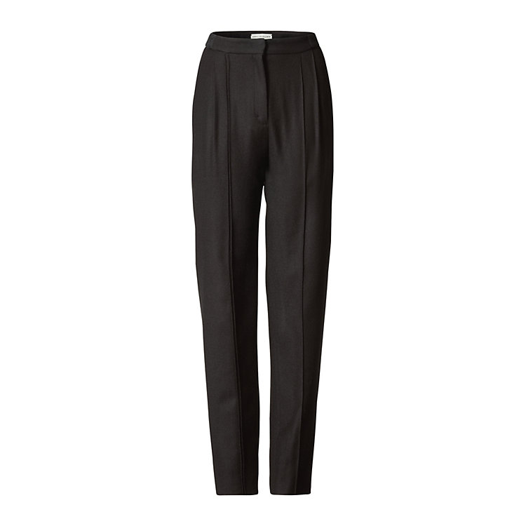 Isabell de Hillerin Trousers Pure New Wool Black