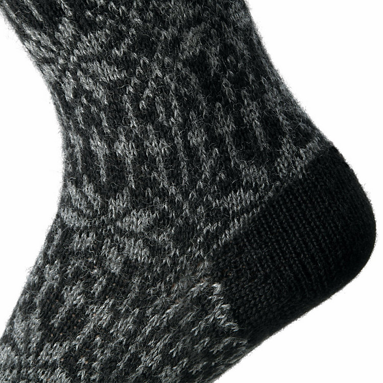 Jacquard Socks Anthracite
