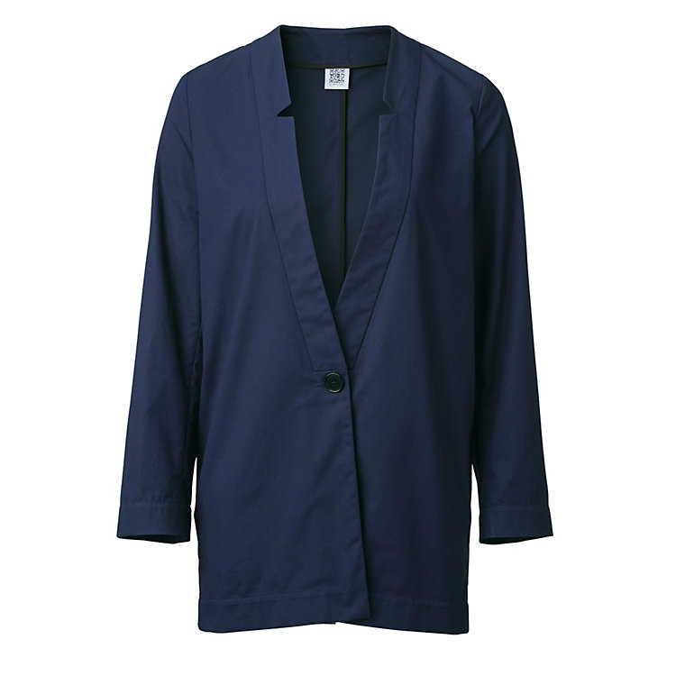 Jan 'n June Women's Long Blazer, Navy blue