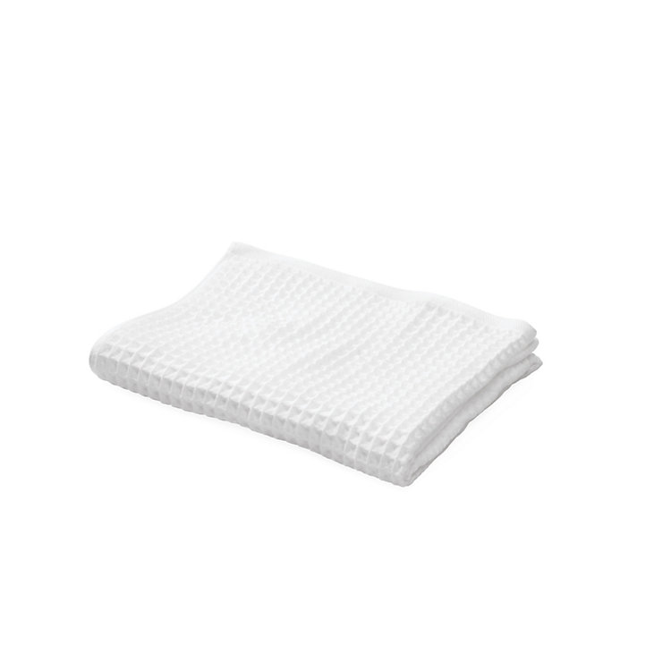 Japanese Honeycomb Weave Hand Towel White