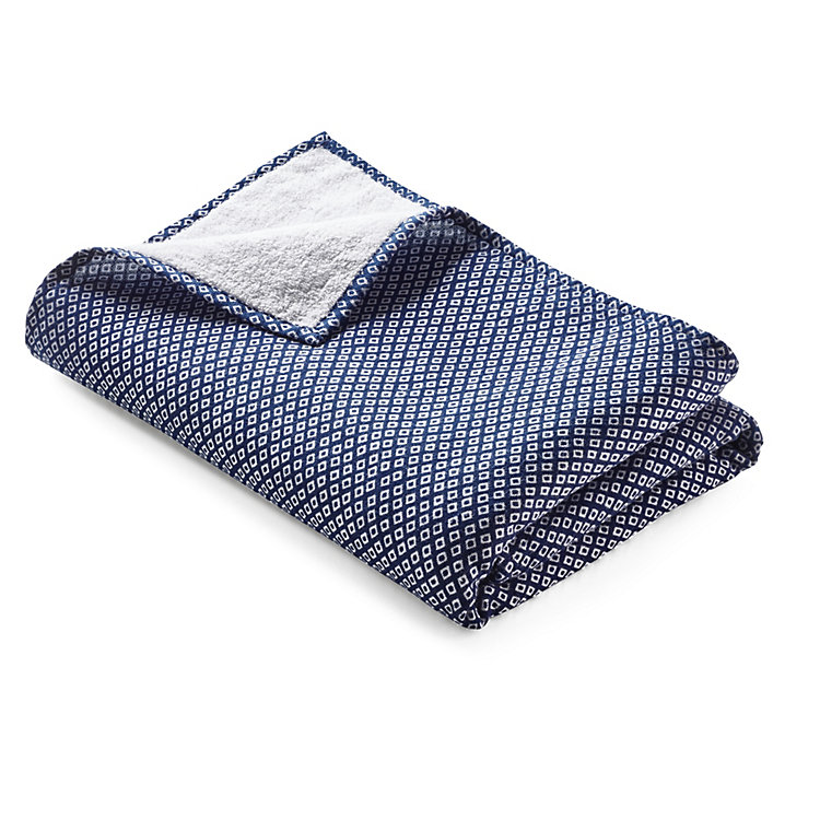 Japanese Shower Towel Diamond Patterned