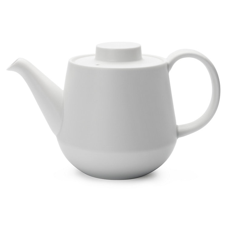 Japanese Teapot White