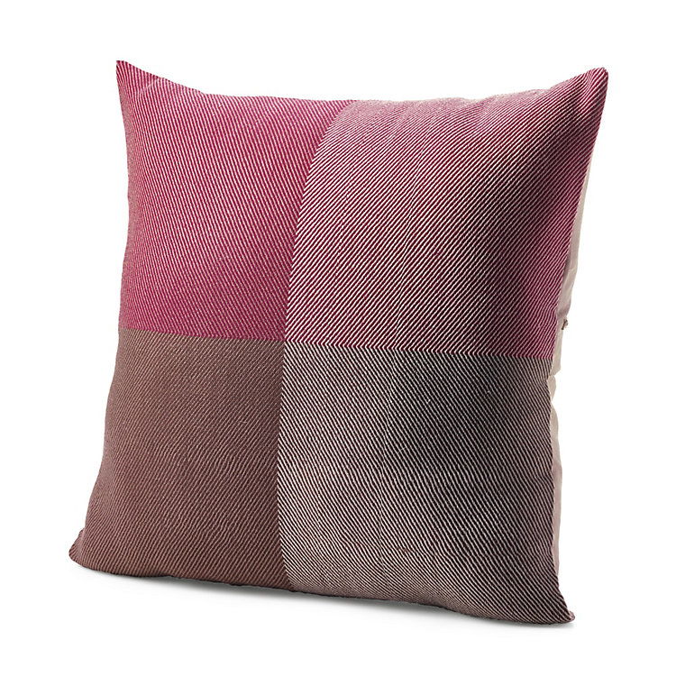 Karigar Cushion Cover Hand-Woven Red