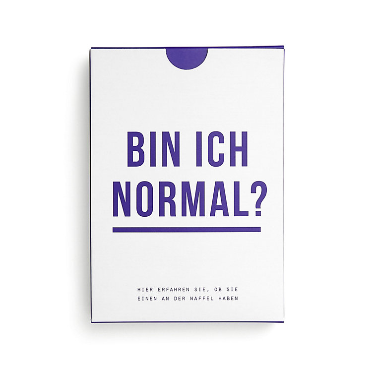 Karten-Set Bin ich Normal