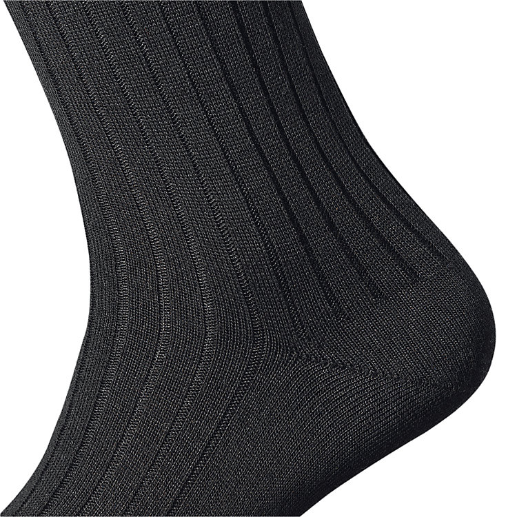 Kessler Merino Wool Men's Socks, Black