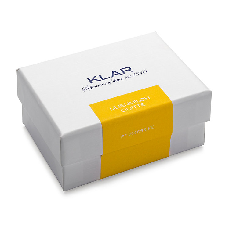 Klar's Skin Care Soap with Lily Milk and Quince