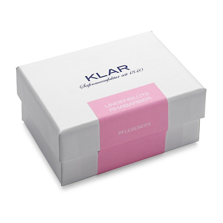 Klar's Skin Care Soap with Lime Blossom and Rhubarb