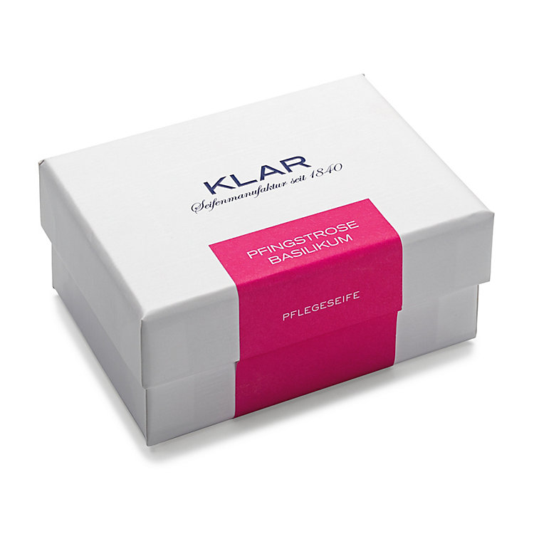 Klar's Skin Care Soap with Peony and Basil