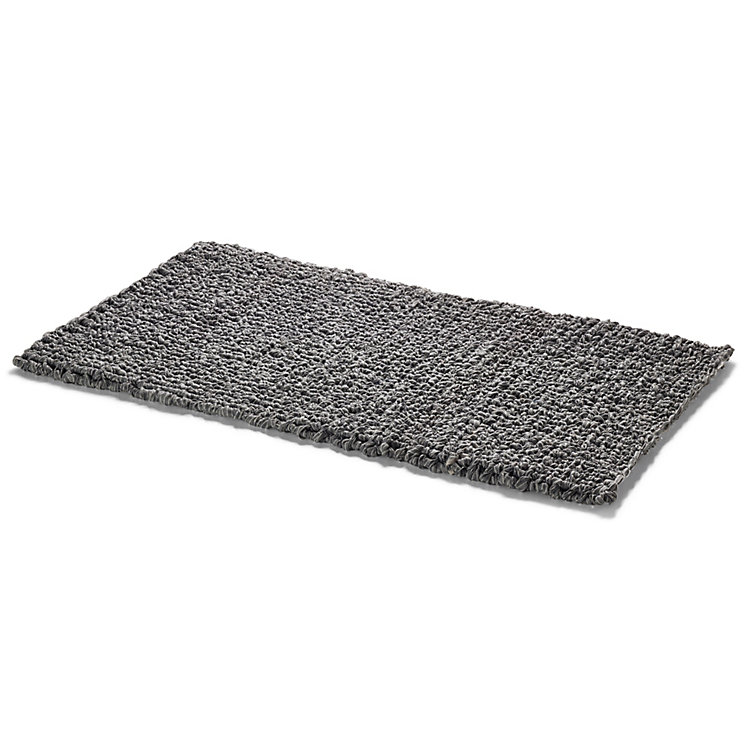 Knitted Linen Bathmat Surprise