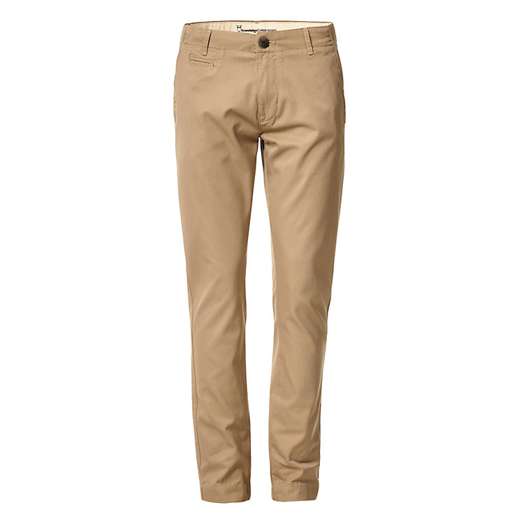 Knowledge Cotton Apparel Chinohose Beige