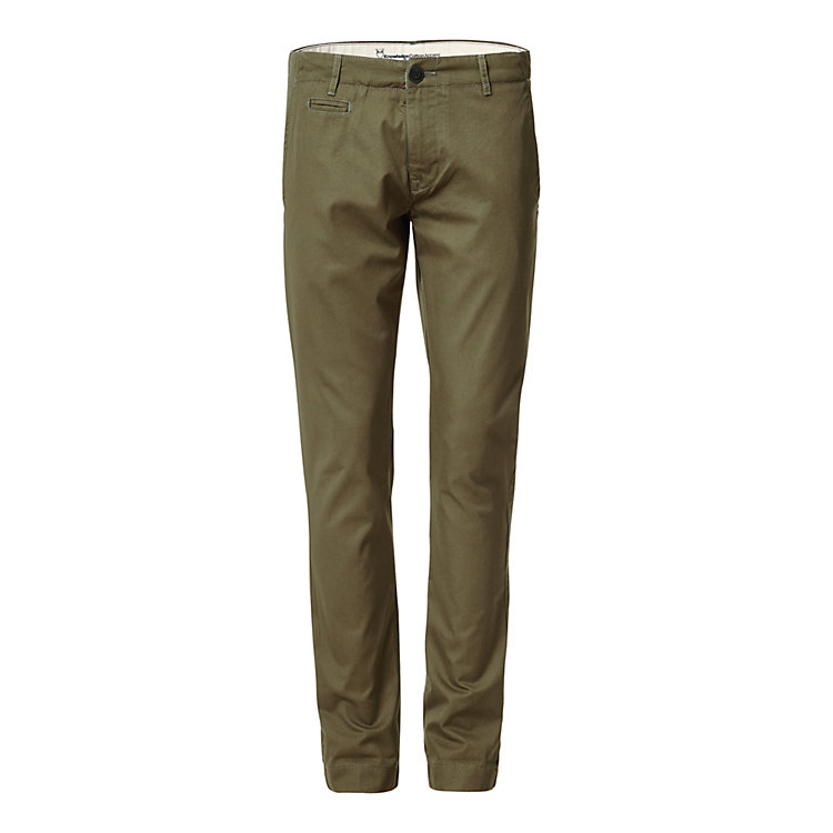 Knowledge Cotton Apparel Chinohose Oliv