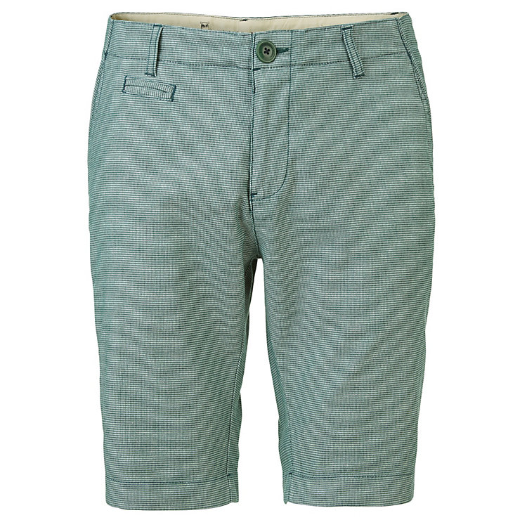 Knowledge Cotton Apparel Herren-Bermudas Grünmeliert