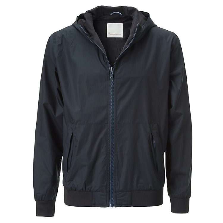 Knowledge Cotton Apparel Herren-Kapuzenjacke Marine