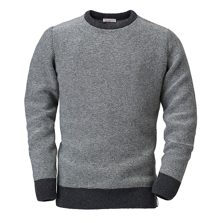 Knowledge Cotton Apparel Men's Knit Jumper Grey-natural
