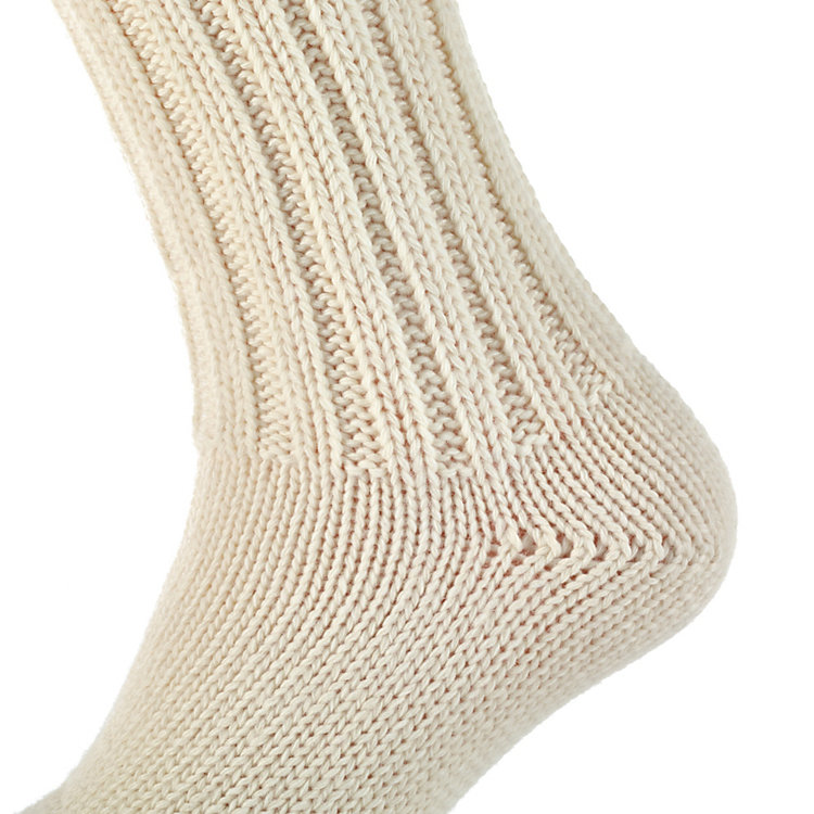 Lamb's Wool Wellington Socks, Nature