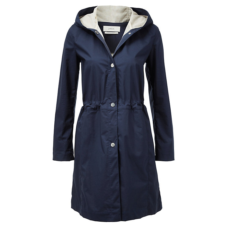 Lanius Double-Faced Coat Navy