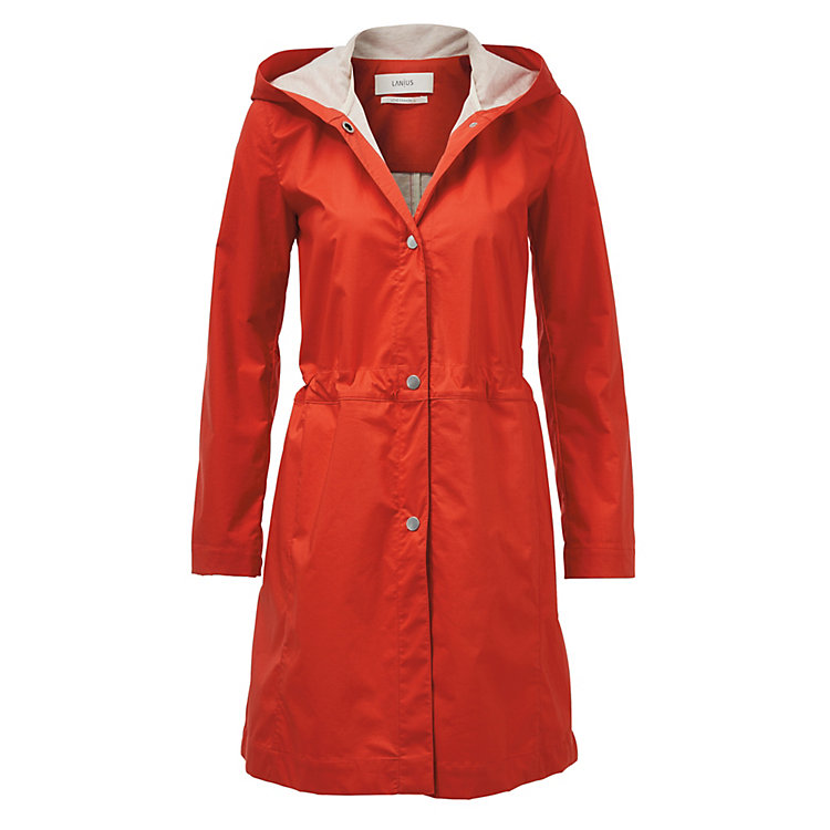 Lanius Double-Faced Coat Red