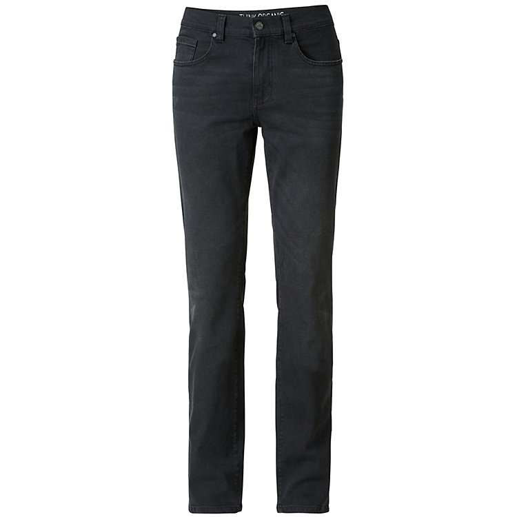 Lanius Herrenjeans Straight Fit Black
