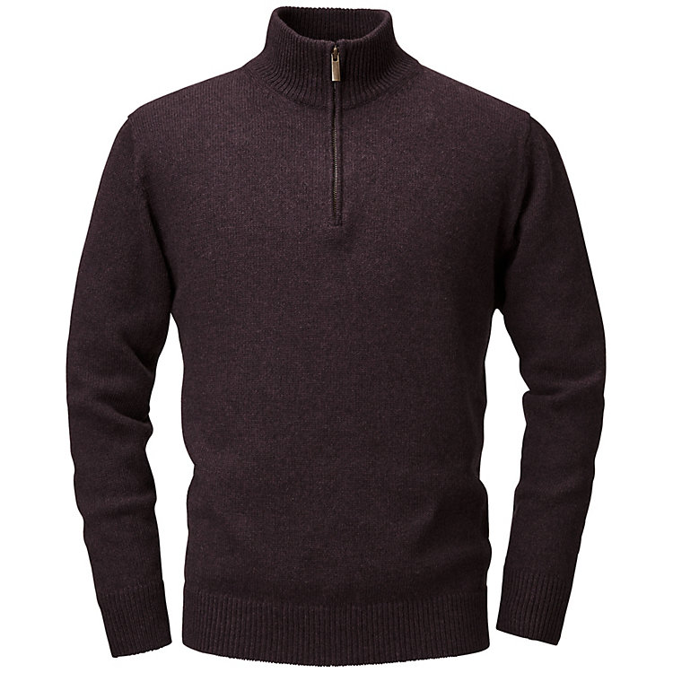Lanius Herrenpullover Bordeaux