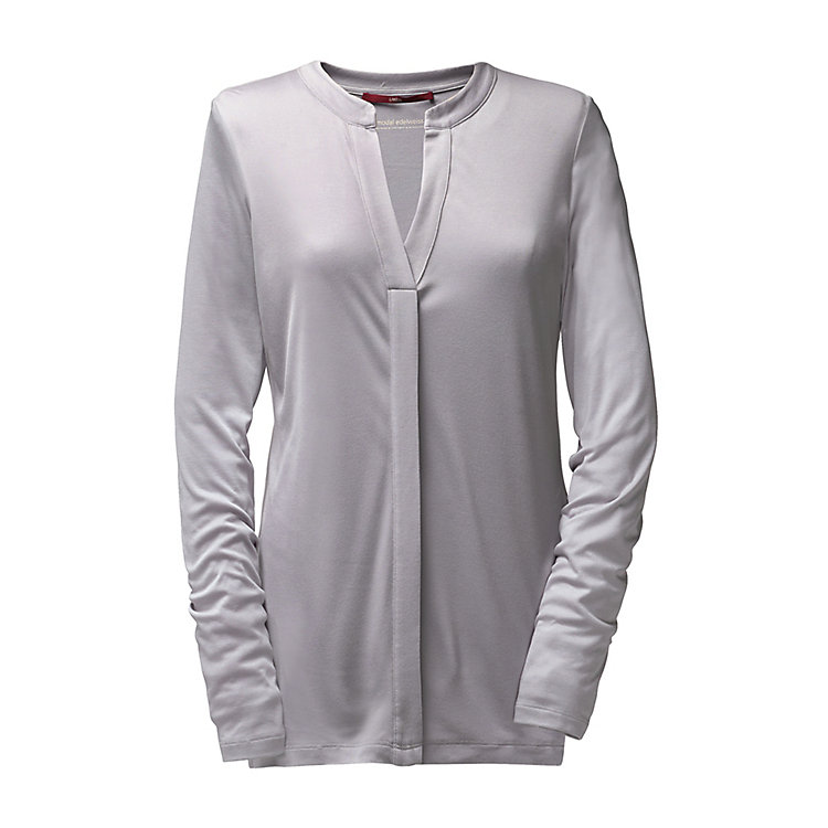 Lanius Long Sleeved Jersey Shirt Silver