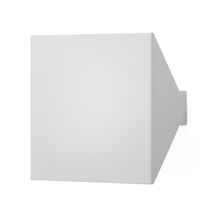 Large Adjustable Wall Lamp White powder-coated Small