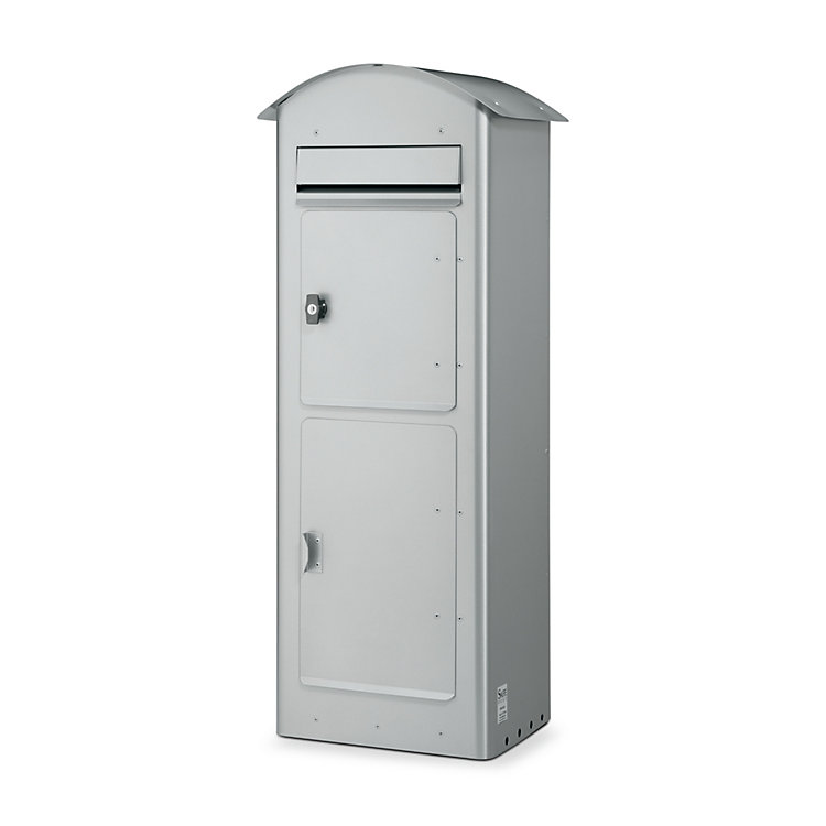 Large Letter Box with Parcel Compartment