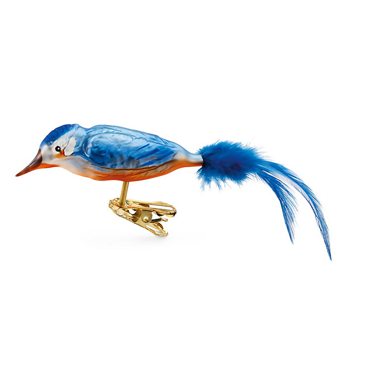 Lauscha Glass Kingfisher