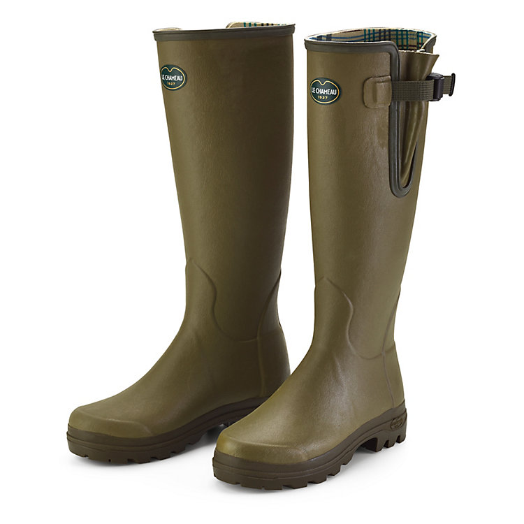 Le Chameau Women's Rubber Boots Green