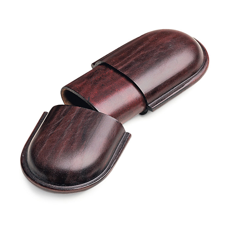 Leather Glasses Case Wide